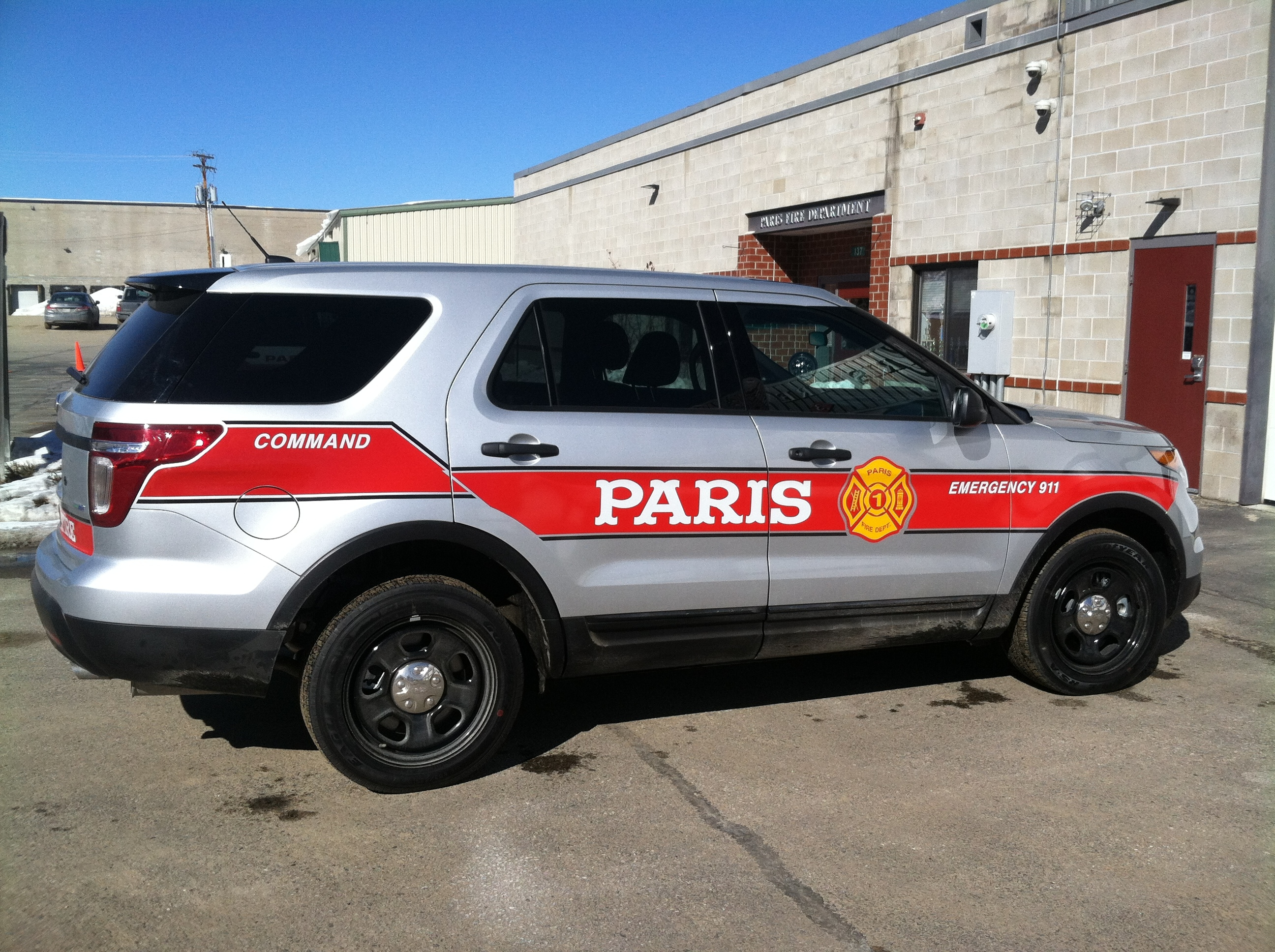 Fire Department Apparatus | Town of Paris, Maine