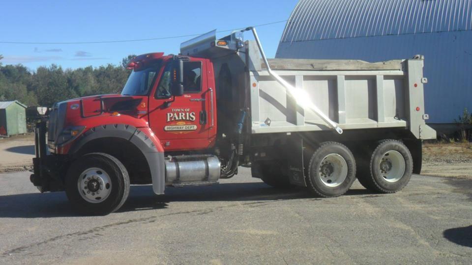 Paris Dump Truck