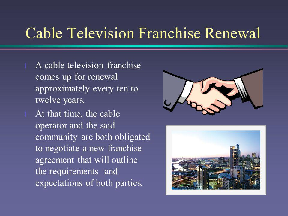 Cabletelevisionfranchiserenewal Town Of Paris Maine